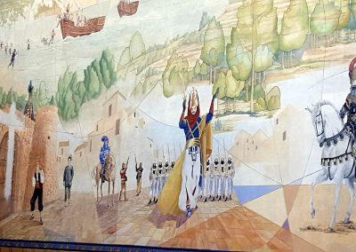 Calpe maalaus seinällä